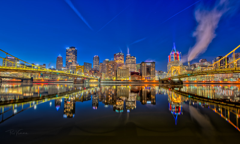 Pittsburgh Across the Allegheny River
