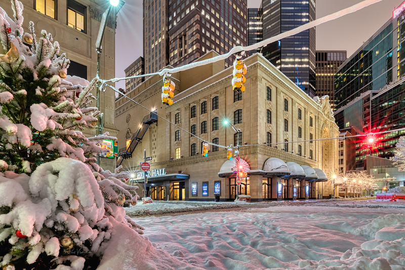 Heinz Hall after the Snow Storm