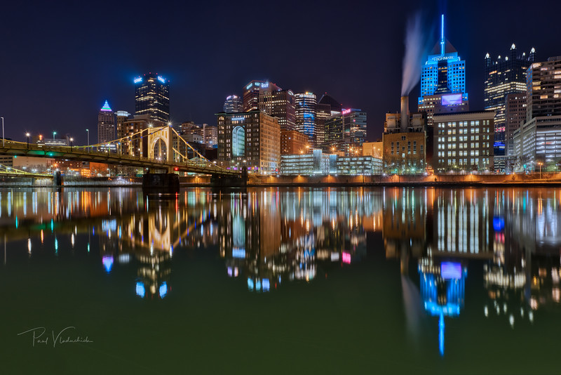 Reflections on the Allegheny - Pittsburgh Pennsylvania