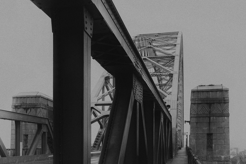 West End Bridge on a Dreary Day - Pittsburgh Pennsylvania