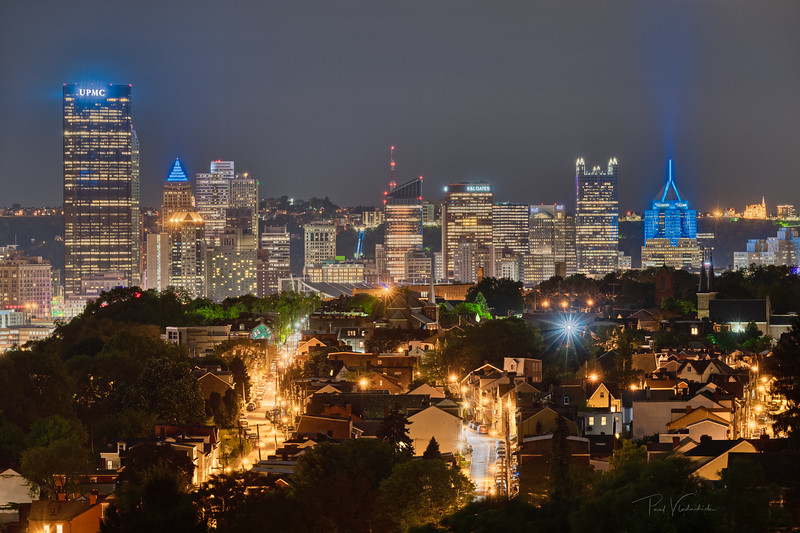 Pittsburgh from Above Troy Hill