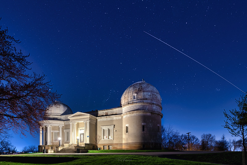 Allegheny Observatory and the International Space Station
