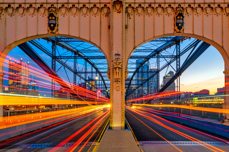 Opposing Traffic - Smithfield Bridge, Pittsburgh Pennsylvnaia