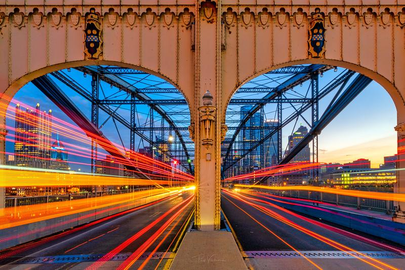 Opposing Traffic - Smithfield Bridge, Pittsburgh Pennsylvnaia