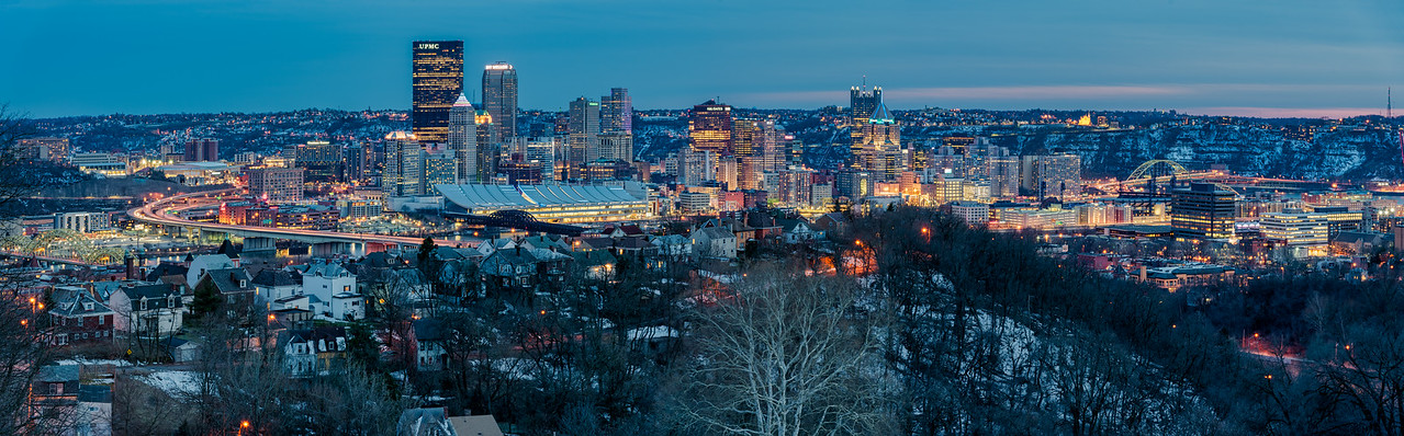 Pittsburgh during Twilight