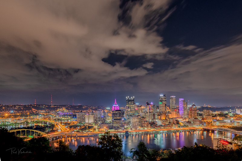 Downtown Pittsburgh from Mt. Washington Overlook