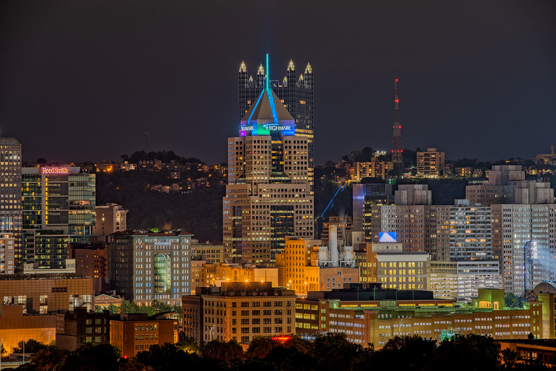 Highmark and PPG Buildings - Pittsburgh Pennsylvania