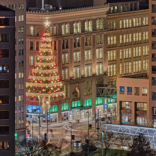 Hornes Christmas Tree - Pittsburgh Pennsylvania
