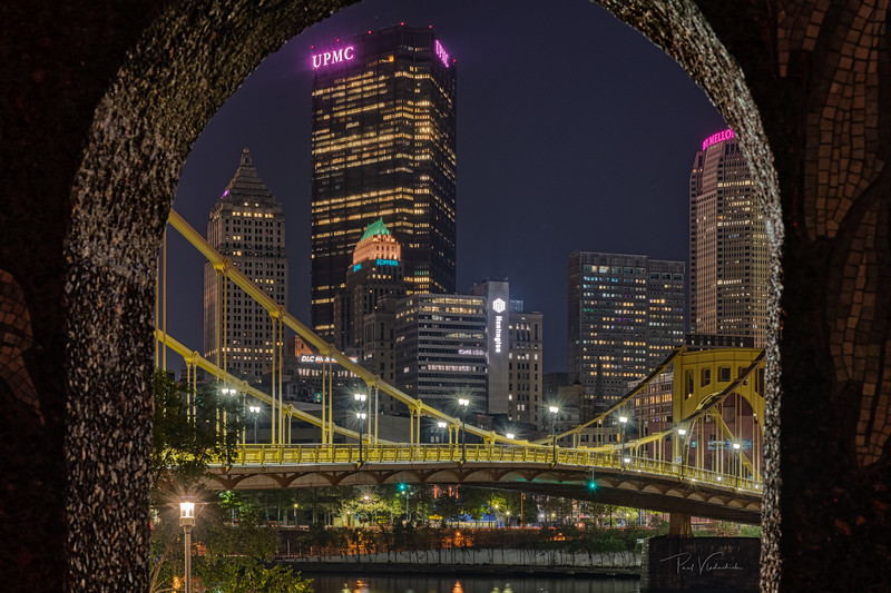 Pittsburgh Lit Pink