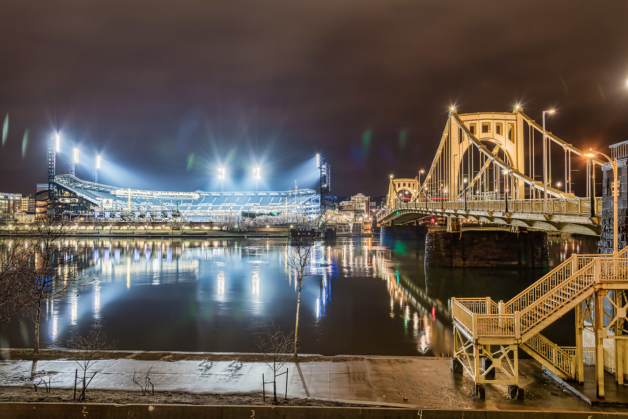 PNC Park - Three Days Before Opening Day
