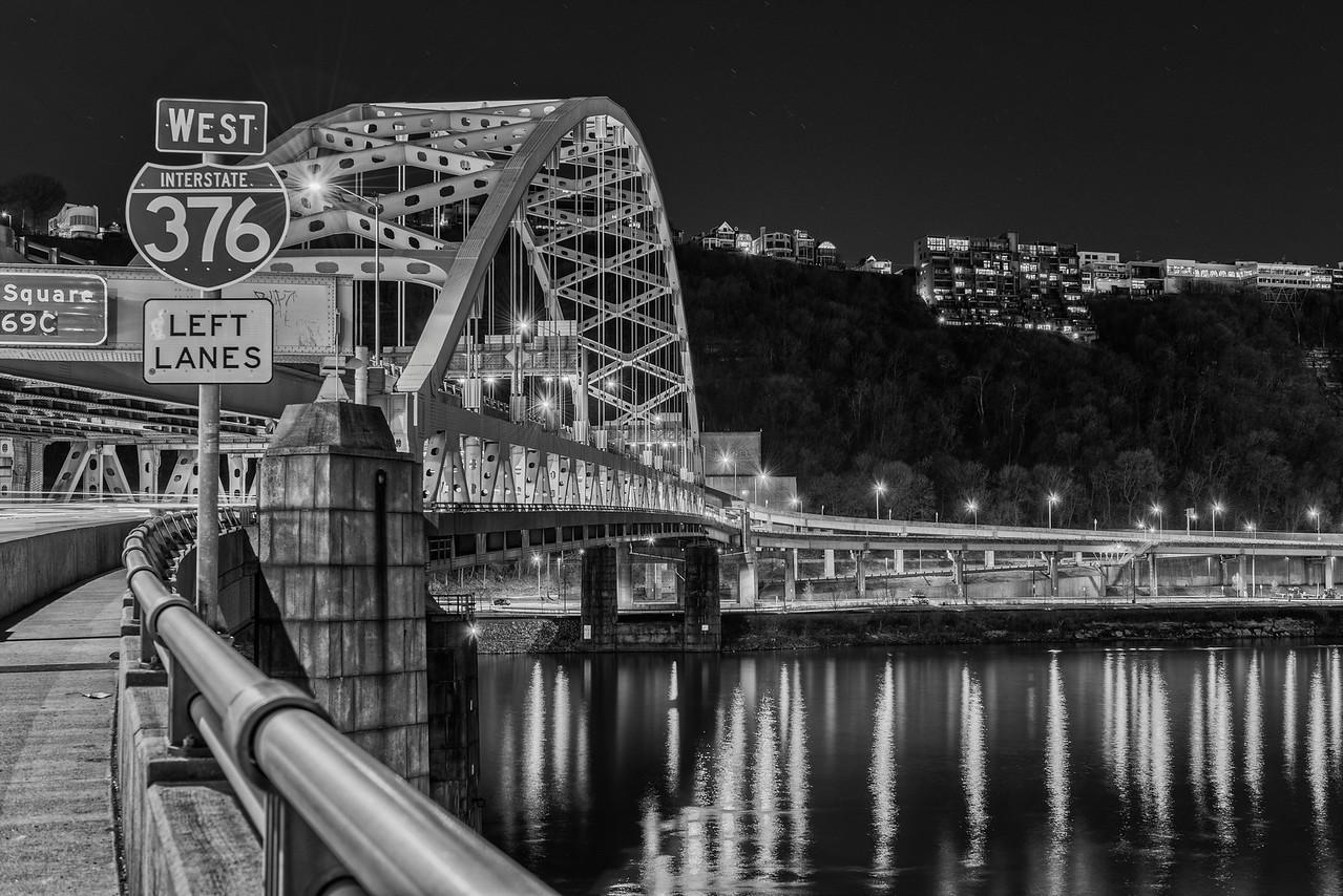 Fort Pitt Bridge  - Pittsburgh Pennsylvania