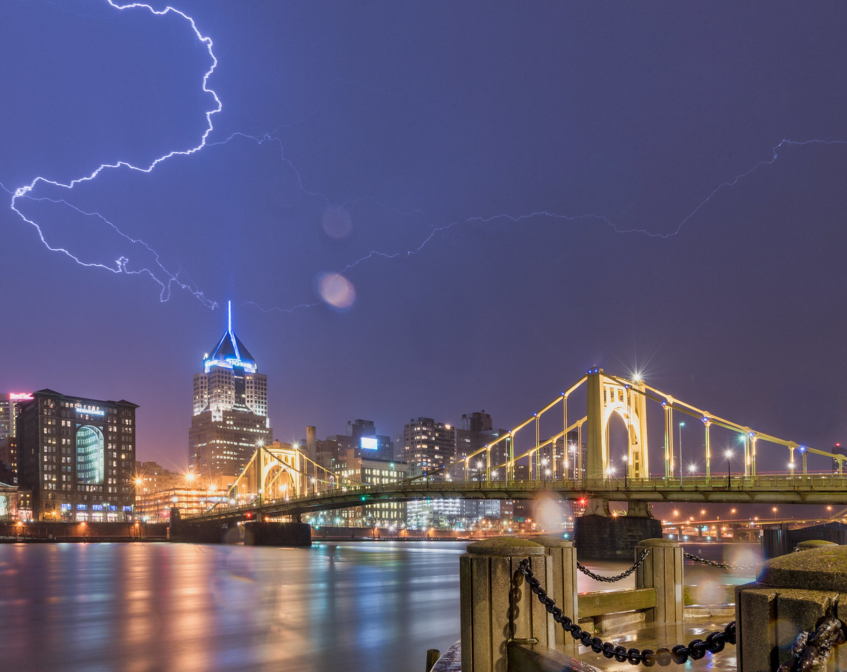 Lightning over Pittsburgh #2