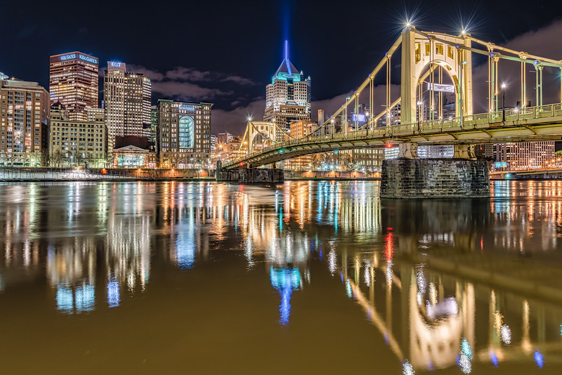 Roberto Clemente Bridge, Pittsburgh Pennsylvania