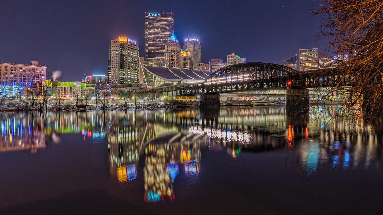 Crossing the River - Pittsburgh Pennsylvania