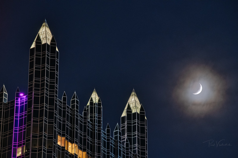 The Moon and the PPG Building