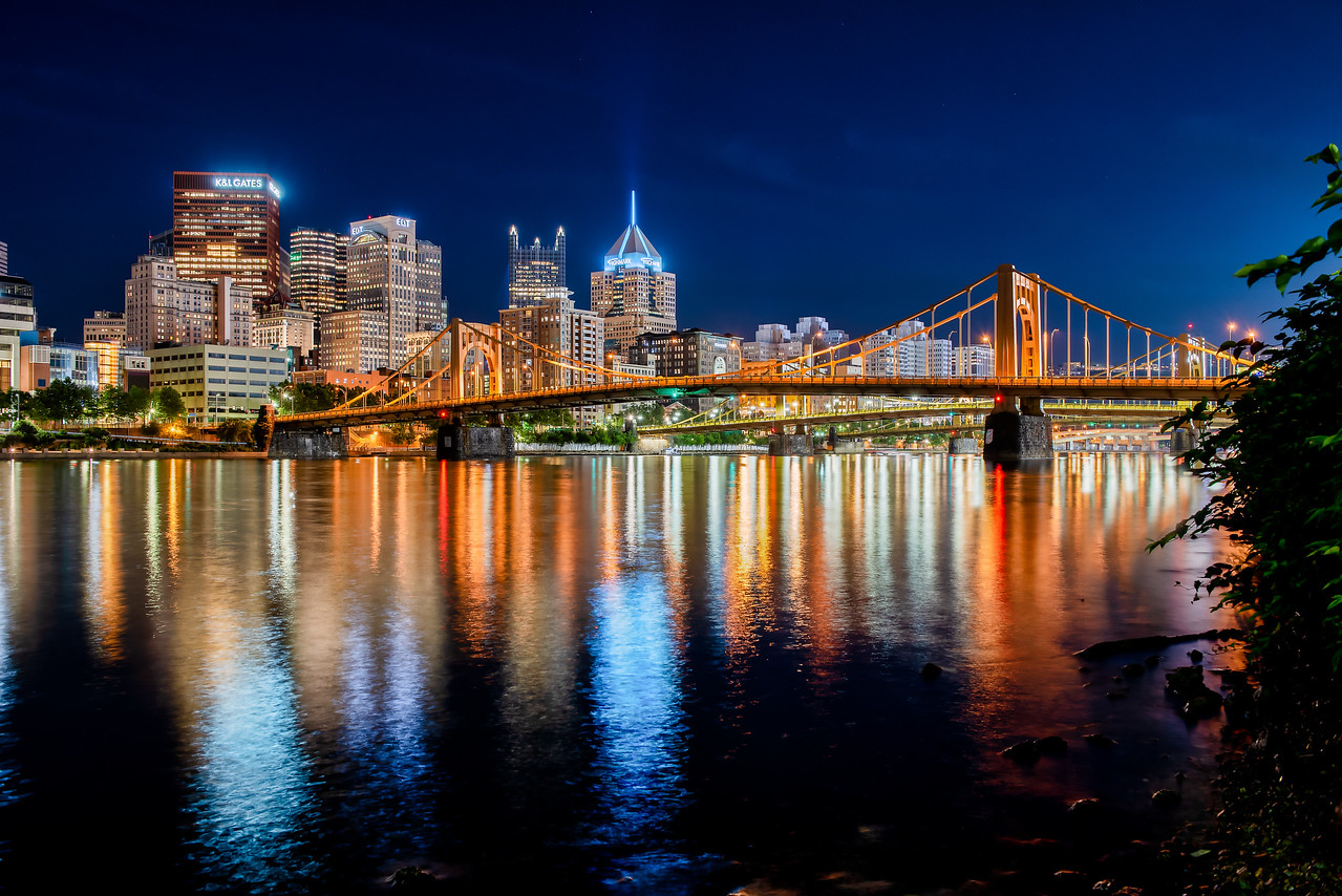 Downtown Pittsburgh - Summer Nights