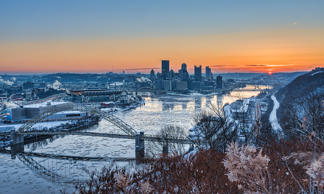 Sunrise on the West End (January 18, 2018)