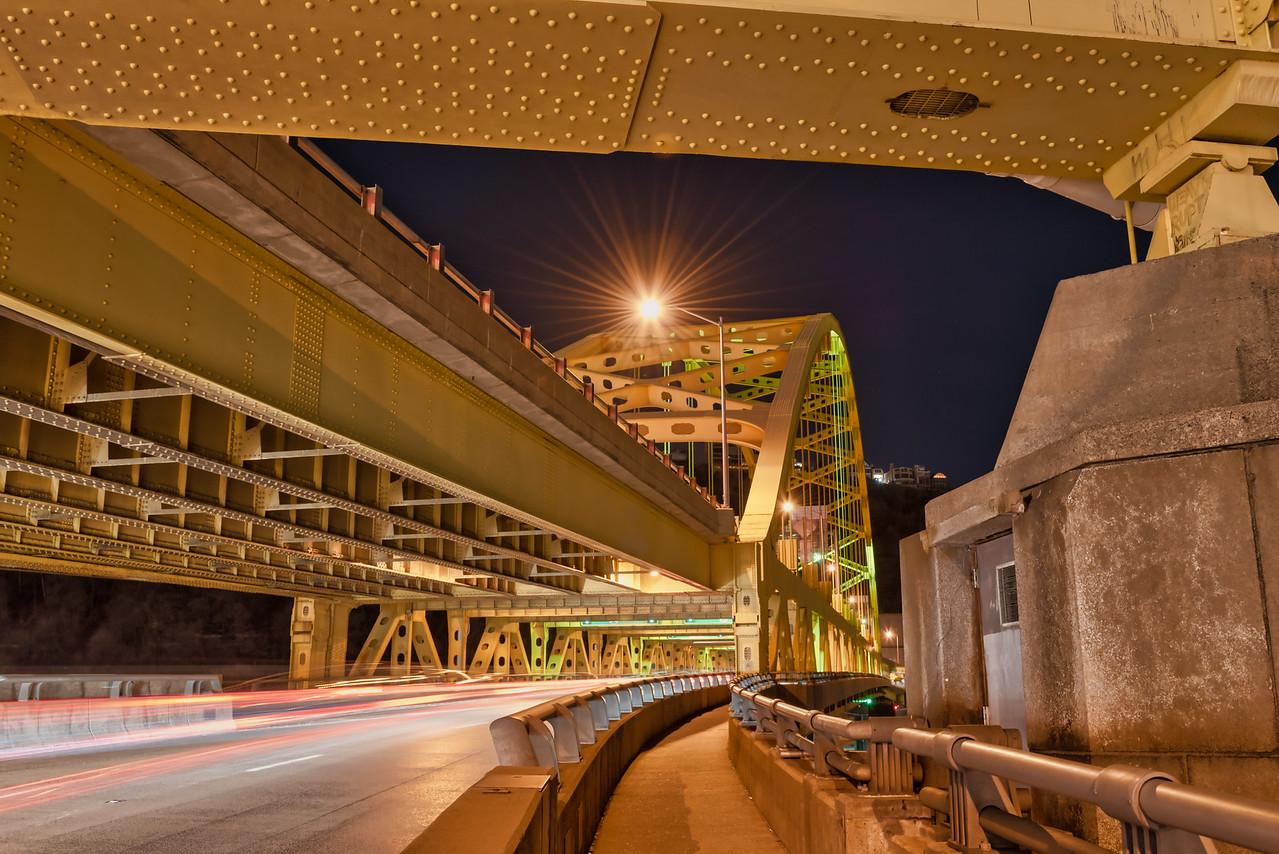 Fort Pitt Bridge Superstructure