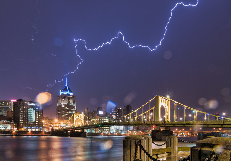 Lighting over Pittsburgh #1