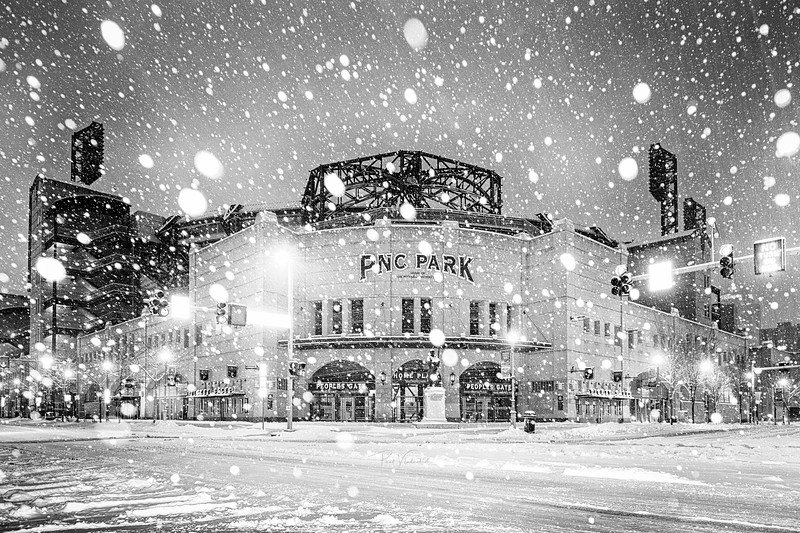 PNC Park in the Winter