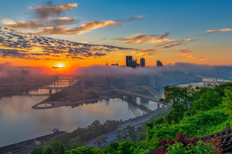 Pittsburgh at Sunrise - June 14, 2021
