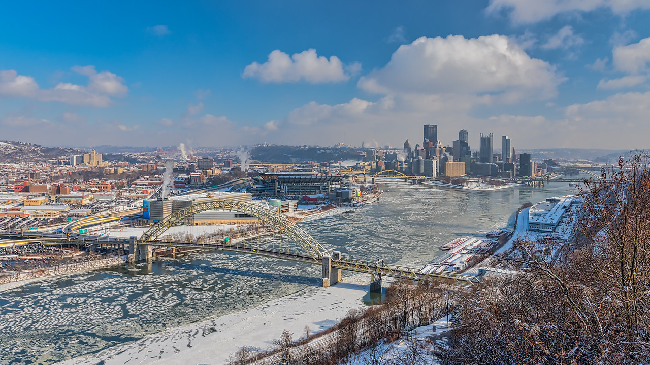 Pittsburgh in Winter - December 2017