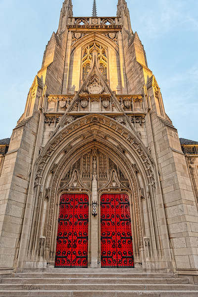 Doors to Heinz Chapel