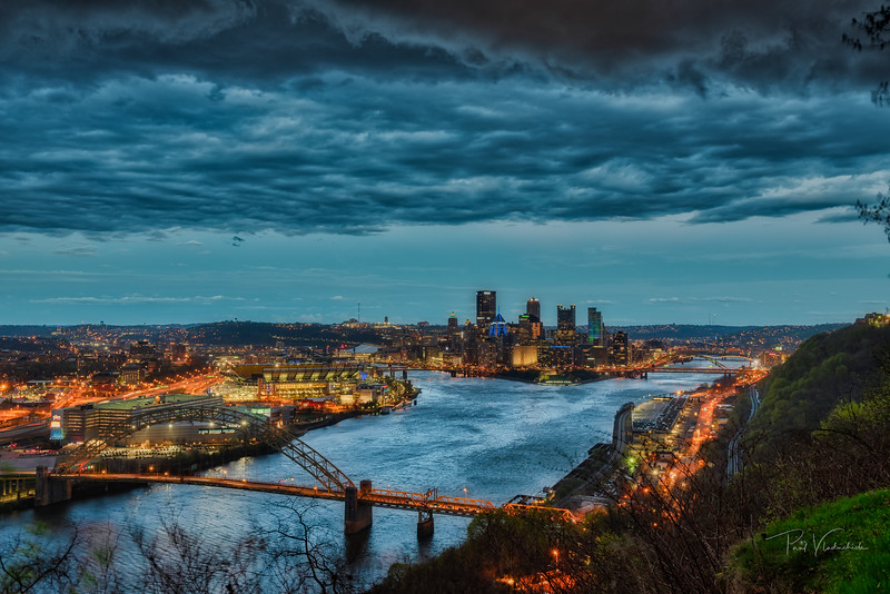 Incoming Thunderstorm - Pittsburgh Pennsylvania