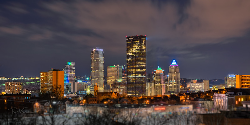 Pittsburgh from the Hill - Pittsburgh Pennsylvania