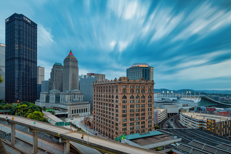 Storm Warning Issued - Pittsburgh Pennsylvania