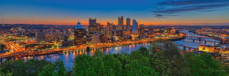 The Start of a Beautiful Day - Pittsburgh Pennsylvania