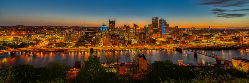 The Start of a Beautiful Day (2) - Pittsburgh Pennsylvania