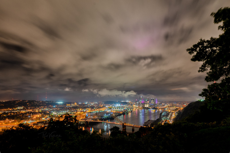 Pittsburgh from the West End Overlook after the Storms