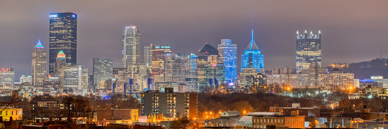 Pittsburgh from Manchester
