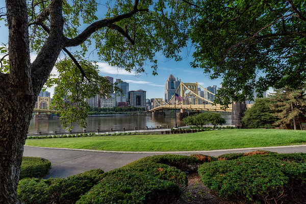 Morning of the Fourth of July - Pittsburgh Pennsylvania