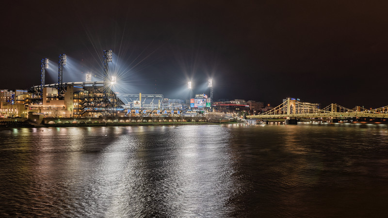 PNC Park - It's too Cold for Baseball - Pittsburgh Pennsylvania