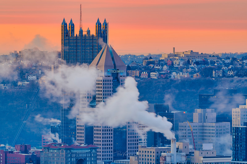 Cold Saturday Morning - Pittsburgh Pennsylvania