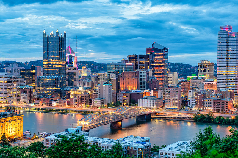 Pittsburgh across the Monongahela
