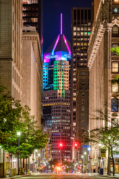 Looking Down Fifth Ave - Pittsburgh Pennsylvania