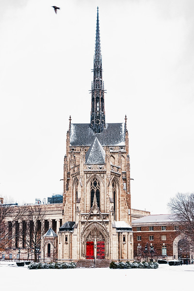 Heinz Chapel - Entrance