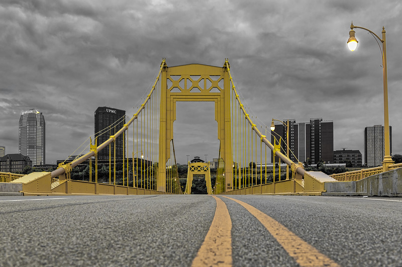 10th Street Bridge - Pittsburgh Pennslyvania