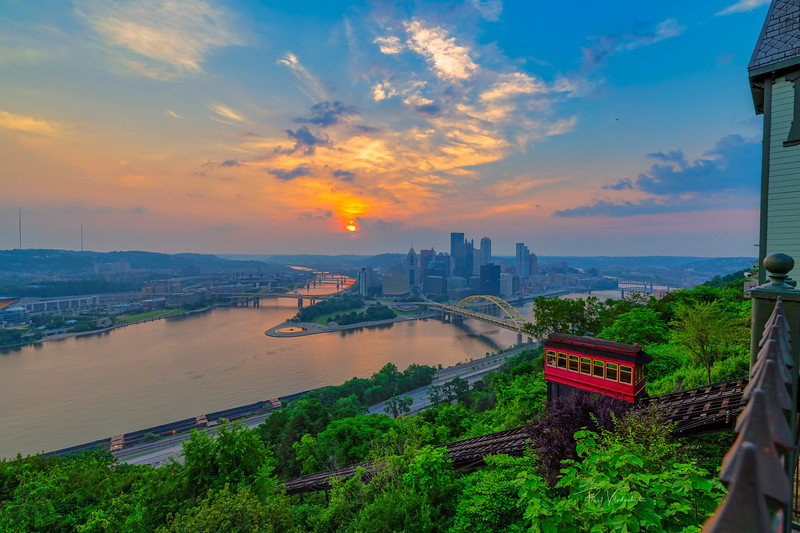 Sunrise from Duquesne Incline
