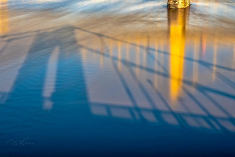 Bridge Reflections in the Allegheny River - Pittsburgh Pennsylvania