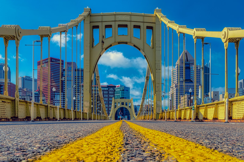 Roberto Clemente Bridge - Pittsburgh Pennsylvania