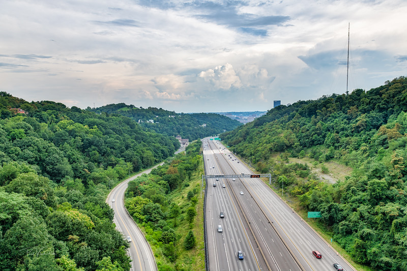 The Fast and Slow Way to Downtown - Pittsburgh Pennsylvania