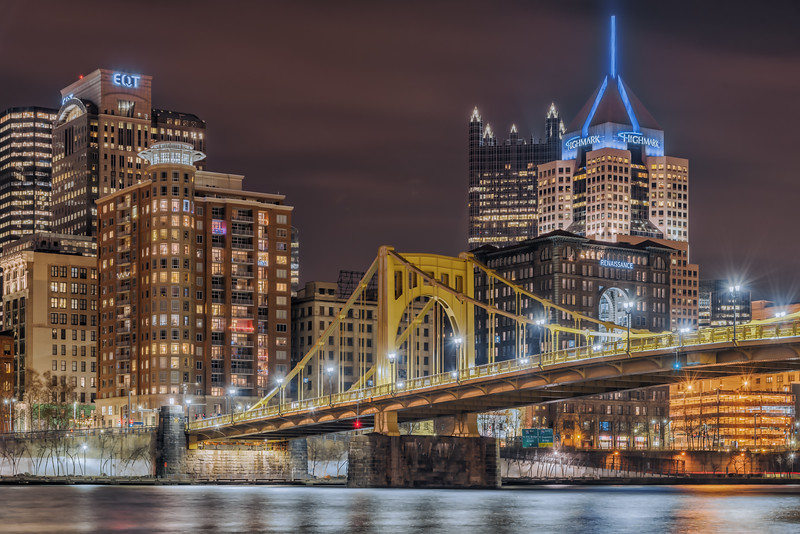 Andy Warhol Bridge - Pittsburgh Pennsylvania