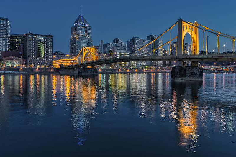 Gold and Blue - Pittsburgh Pennsylvania