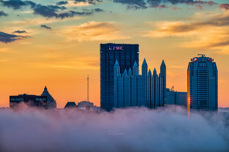 Steel City and the Fog at Dawn