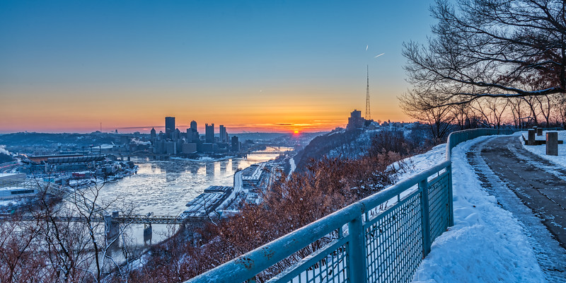 Pittsburgh Sunrise - January 18, 2018