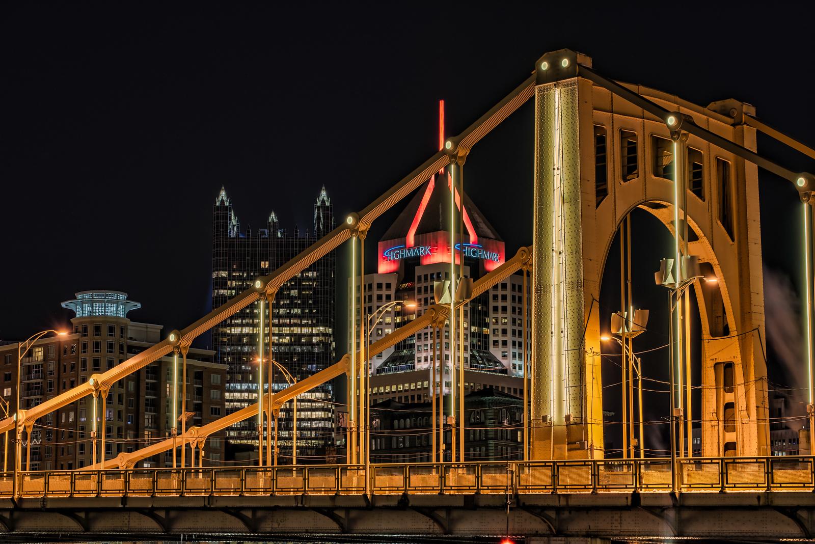 Rachel Carson Bridge - Pittsburgh Pennsylvania